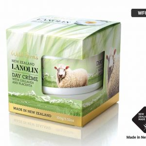 Lanolin Day Cream With Collagen And Placenta - 100g