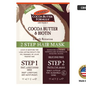 CB and Biotin Length Retention 2 Step Hair Mask