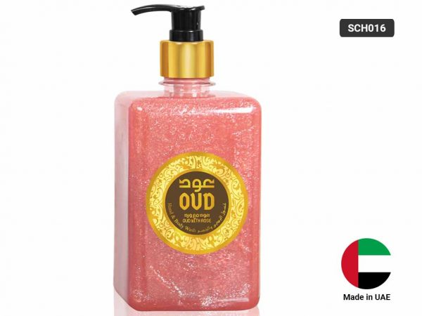 OUD HAND and BODY WASH - Rose