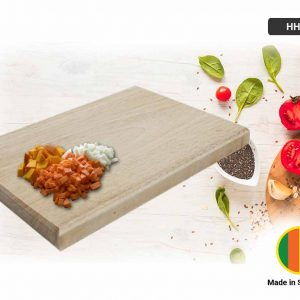 Chopping Board Treated Rubber Wood (M)