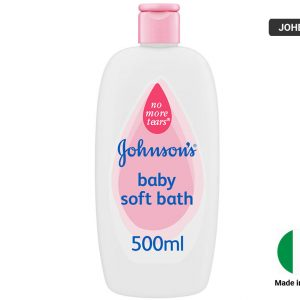 JOHNSONS Baby Soft Bath 500ml