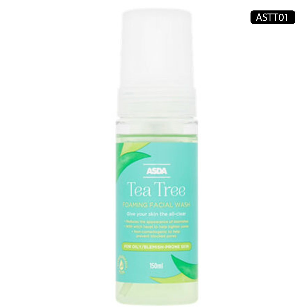 ASDA TEA TREE FOAMING FACIAL WASH 150ml