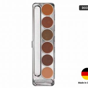 DERMA COLOR Cream Pallet 6 SHADES-BRIDAL