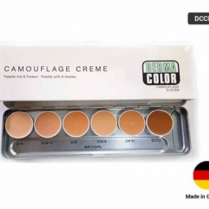 DERMA COLOR Cream Pallet 6 SHADES