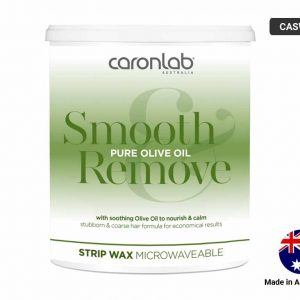 CARONLAB Smooth and Remove Olive Oil Strip Clear Wax 800g