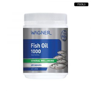WAGNER Fish Oil 1000mg - 400 cap