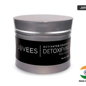 JOVEES ACTIVATED DETOXIFYING CHARCOAL FACE MASQUE 100gm