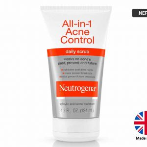 NEUTROGENA All-In-1 ACNE CONTROL Daily Scrub 124ml