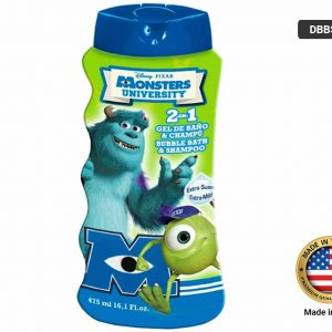 DISNEY MONSTERS UNIVERSITY Bath + Shampoo 475ml