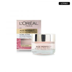 LOREAL AGE PERFECT ROSY GLOW Face Mask 50ml