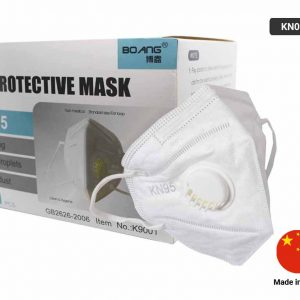 KN95 Protective Face Mask Pack with Breathing Valve (With Filter)