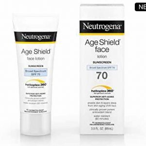 NEUTROGENA Age Shield Face Lotion Sunscreen Broad Spectrum SPF 70 88ml