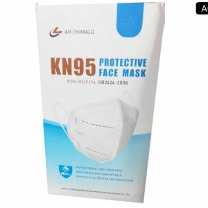 AH CHANGLI KN95 Protective Respirator Face Mask Pack (20 masks)