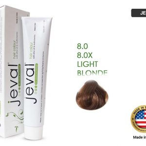 JEVAL Hair Color 8.0x Light Blonde Extra 100ml