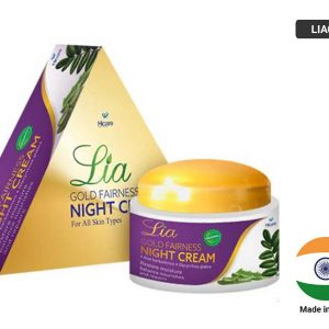LIA GOLD FAIRNESS Night Cream 50g