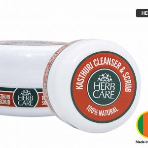 HERB CARE Kasthuri Cleanser and Scrub 50g