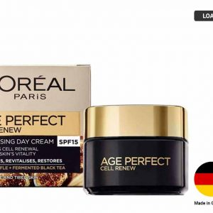 LOREAL AGE PERFECT Cell Renew Revitalising Day Cream SPF15 (GERMANY)