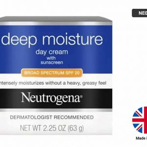 NEUTROGENA Deep Moisture Day Cream with Sunscreen 63g
