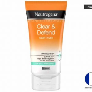 NEUTROGENA Clear and Defend Wash Mask 150ml (FRANCE)