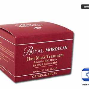 ROYAL MOROCCAN Hair Mask Treatment for Dry and Colored Hair 250ml (ISRAEL)