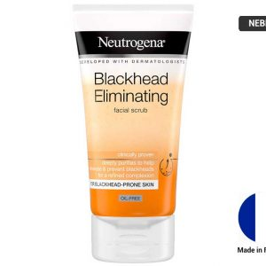 NEUTROGENA Blackhead Eliminating Facial Scrub 150ml (FRANCE)