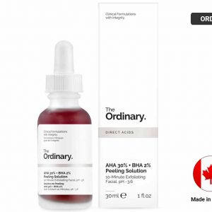THE ORDINARY Direct Acids AHA 30% + BHA 2% Peeling Solution 30ml (CANADA)