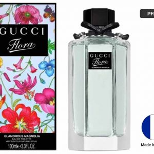 GUCCI FLORA Glamorous Magnolia Eau De Toilette Vaporisateur Natural Spray 100ml (FRANCE)