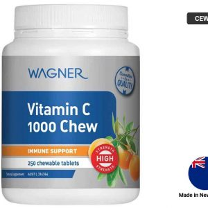 WAGNER Vitamin C 1000 Chew 250 chewable tablets
