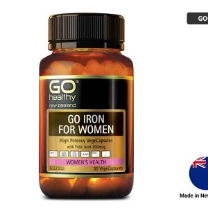 GO HEALTHY Iron For Women 30 Capsules
